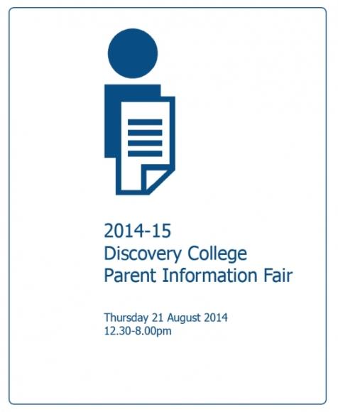 DC Parent Info Fair 2014