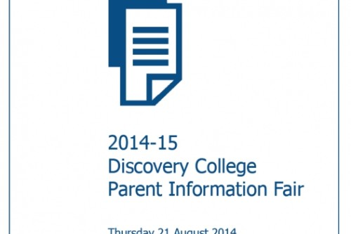 DC Parent Info Fair 2014