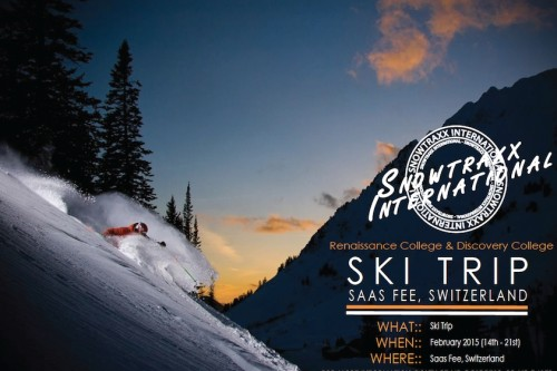 Discovery College and Renaissance College Ski Trip is back!
