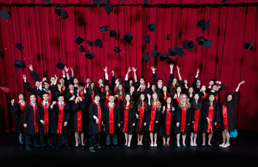GraduationGroupHatThrow