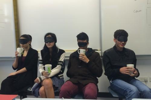 blind testing