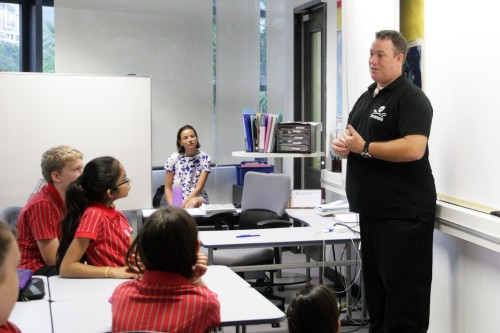 Year 7 welcomes guest speaker from Sea Shepherd