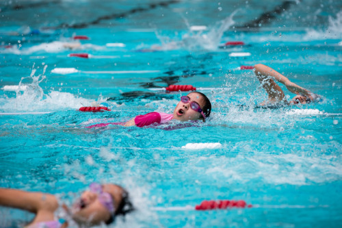 A great time had at the Primary Swimming Carnival