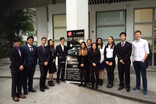 DC teams compete in ESF Marketing Competition