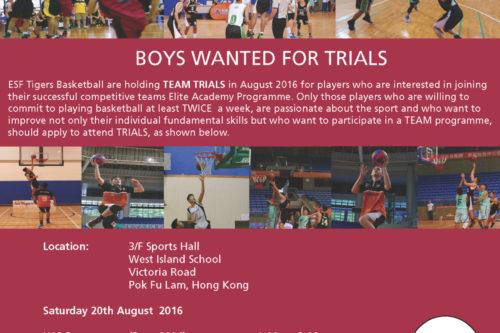 Trials 2016 Flyer