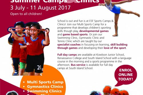 ESF Sports Summer Camp 2017